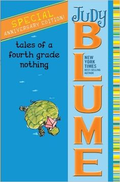 Tales of a Fourth Grade Nothing, by Judy Blume. I remember loving these as a kiddo, too. We actually bought all five of these instead of grabbing them at the library. Every kid needs Judy Blume on her bookshelf. Tales Of A 4th Grade Nothing, Wimpy Kid Series, Good Books, Books To Read, Ya Books, Amazing Books, Funny Books For Kids, Reading Levels, Kids Reading