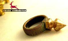 DON'T TOUCH ME - Steampunk Patina Style Ring von Schloss Klunkerstein - Uhren, von Hand gefertigter Unikat - Schmuck aus Naturmaterialien, Medaillons, Steampunk -, Shabby - & Vintage - Schätze, sowie viele einzigartige und liebevolle Geschenke ... auf DaWanda.com