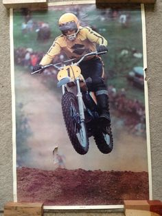 My basement vintage MX poster find - Moto-Related - Motocross Forums / Message Boards - Vital MX