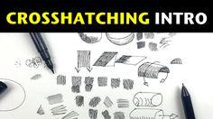 Pen and Ink Crosshatching Basic Drawing, Drawing Lessons, Drawing Techniques, Drawing Ideas, Drawing Tutorials For Beginners, Art Tutorials, Elements And Principles, Cross Hatching, Ink Pen Drawings