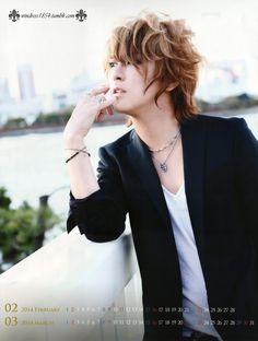 Kamijo il est plus beau chaque jour !!!! <3 <3
