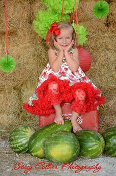 watermelon mini sessions, sassy girl, summer fun photo shoot, collier photography