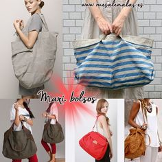 Maxi bags in www.mesalenalas.es