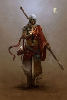 (1) Auron from FF X plus Assassin's Creed…. Approved | Fantasy Characters | Pinterest
