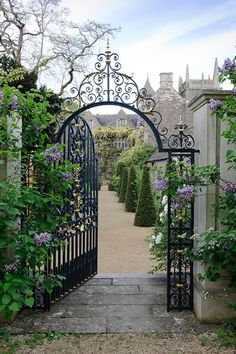 gate to a garden