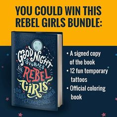 A book that inspires girls with the stories of 100 great women, from Elizabeth I to Serena Williams.