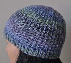 Mendocino Heel Stitch Hat - Crystal Palace Yarns - free hat pattern