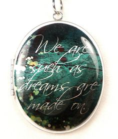 Shakepeare Quote Locket A Midsummer Night's Dream by accessoreads