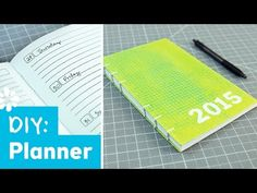 How to Make a Planner : Back to Budget Basics - YouTube. Free weekly a5 planner page.