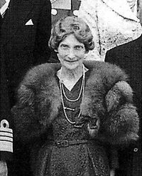 Dagmar of Denmark (1890 - 1961). Daughter of Frederick VIII and Louise of Sweden. She married Jorgen Catenskiold and had four children.