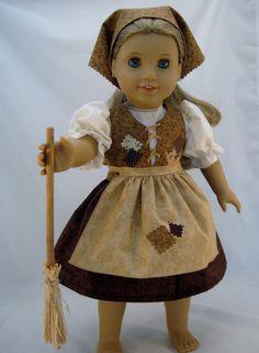 American Girl Sized Poor Cinderella Dress by enchanteddesigner, $33.00