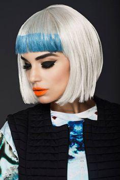 A striking make-up creation by head of make-up & education at #KryolanLONDON Paul Merchant. #GFA2014