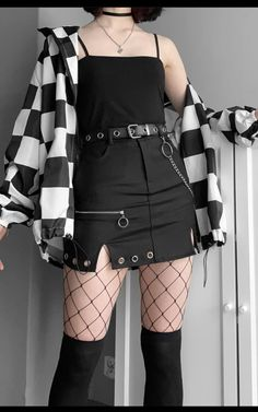 Gothic Outfits, Edgy Outfits, Korean Outfits, Mode Outfits, Retro Outfits, Grunge Outfits, Cute Casual Outfits, Swaggy Outfits, Bad Girl Outfits