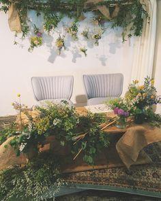 今日のウェディングの高砂装花新婦様のお好きな雰囲気のお花やテイストがいっぱい ご結婚おめでとうございます produced by @wedding_circus #flowers #RaQue #weddingcircus #wedding #hotelemanon #decoration #高砂装花 by raque_rie