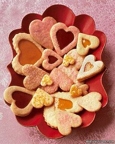 Valentine Cookies perfect to make on a snowy February 13th!