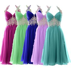 Find More Bridesmaid Dresses Information about Customized 20 Colors Appliqued Waist Bridesmaid Dress short  Maid of Honor Dresses Halter Neck Prom Dress 2016,High Quality dresses for large breasts,China dress up girls dresses Suppliers, Cheap dress white dress from Ayaya Dress Shop on Aliexpress.com