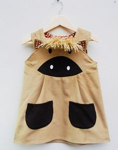 Toddler Girls Pony Dress. $62.00, via Etsy.  (wildthingdresses)