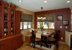 Kitchens.com - built-in bench - Country Kitchens
