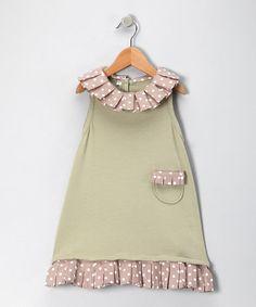 Add ruffles to an a-line dress