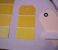 Playing With Paint Chips – Go Make Something