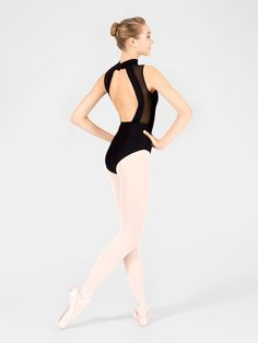 Free Shipping - Adult Lys Swiss Dot Tank Leotard by WEAR MOI