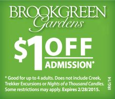 Brookgreen Gardens Coupons