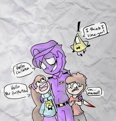 Meeting Purple Guy by TyelerKostlan on DeviantArt