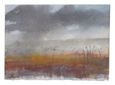 Norman Ackroyd - Holkham Norfolk 2007 - watercolour