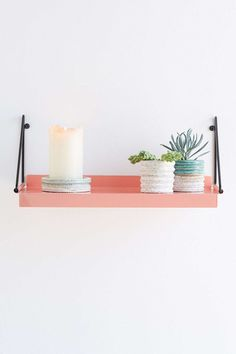 Floating shelves: http://www.stylemepretty.com/living/2015/06/04/17-chic-renter-hacks-you-must-know/