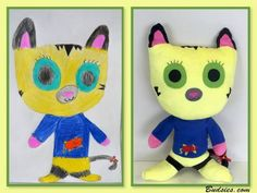 This Toy Company Takes Childrens Drawings And Turns Them Into Something Wonderful | Deveoh!