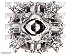 Ethnic eye tattoo: http://www.warvox.com/ethnic-eye-tattoo/