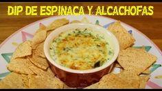 dip de espinacas y alcachofas - YouTube