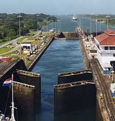 Awesome Panama Canal. I believe everyone should experience this at least once in a lifetime. #PrincessCruises and #travel