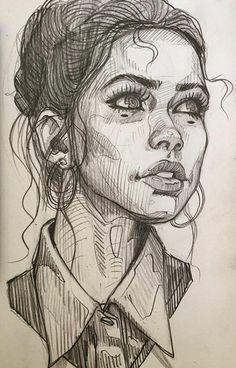 Art Design Illustration Bleistift Portraitzeichnung … - Indispensable address of art Art design illustration pencil portrait drawin Pencil Portrait Drawing, Portrait Sketches, Art Drawings Sketches, Portrait Art, Pencil Art, Drawing Portraits, Sketches Of Faces, Sketch Art, Portrait Ideas