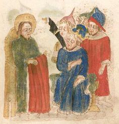 Weltchronik. Sibyllenweissagung. Antichrist  BSB Cgm 426, Bayern,  3. Viertel 15. Jh  Folio 125