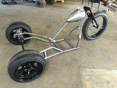 Our drift trike is really starting to come together. Hopefully we will be riding after New Years.