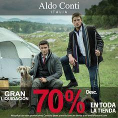Aldo Conti en #Antea te ofrece hasta el 70% de descuento en toda la tienda.