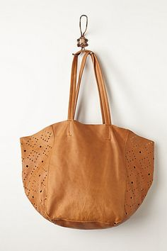 Austin Cutwork Tote - anthropologie.com