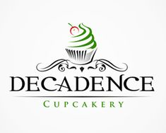 Cupcake Logo Ideal For Cake Shop Pastry Shop By Obercaildesign