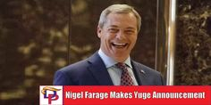 Nigel Farage is another great addition to the pro-Trump Fox News lineup that they have been building since the election of Donald Trump. I for one welcome Nigel's insight into all things politics. What do you think?
