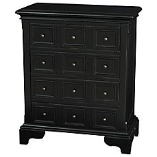 image of pulaski lincoln 4 drawer apothecary accent chest in aged black finish amazoncom altra furniture ryder apothecary tv