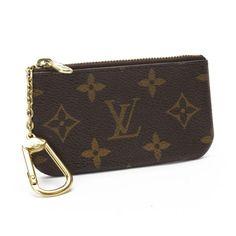 Louis Vuitton Pochette Cles Monogram Wallets Brown Canvas M62650