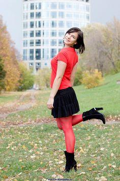 Ansehen Alexandra Pantyhose Pics 02 Du