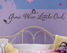 1 X Toprate(TM)Black Color Grow Wise Litte Owl Cute...