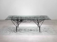 INFRASTRUCTURE DINING TABLE. #exclusive #art #collector