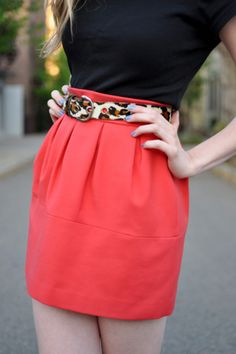 Cute skirt. WAY too short but I love the pleats.