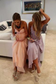 simple, pastel, maxi styled, boho girls!