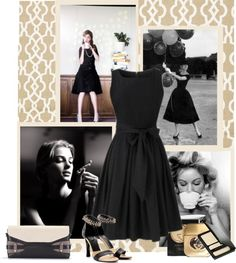 """it's little, it's black, it's a dress"" by bodangela ❤ liked on Polyvore"
