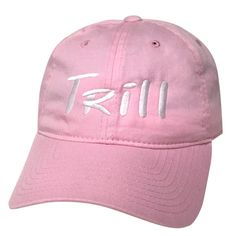 Trill Low Profile Curved Bill Embroidered by PrfctoLifestyle