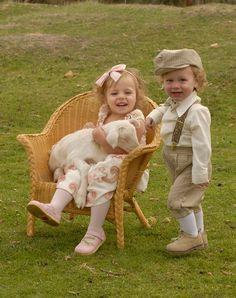children with little lamb - RJN Photography -- Rebecca Nagy